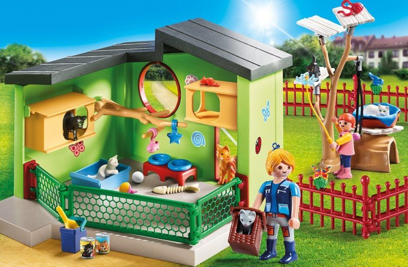 playmobil 9276 katzenpension testsieger. Black Bedroom Furniture Sets. Home Design Ideas