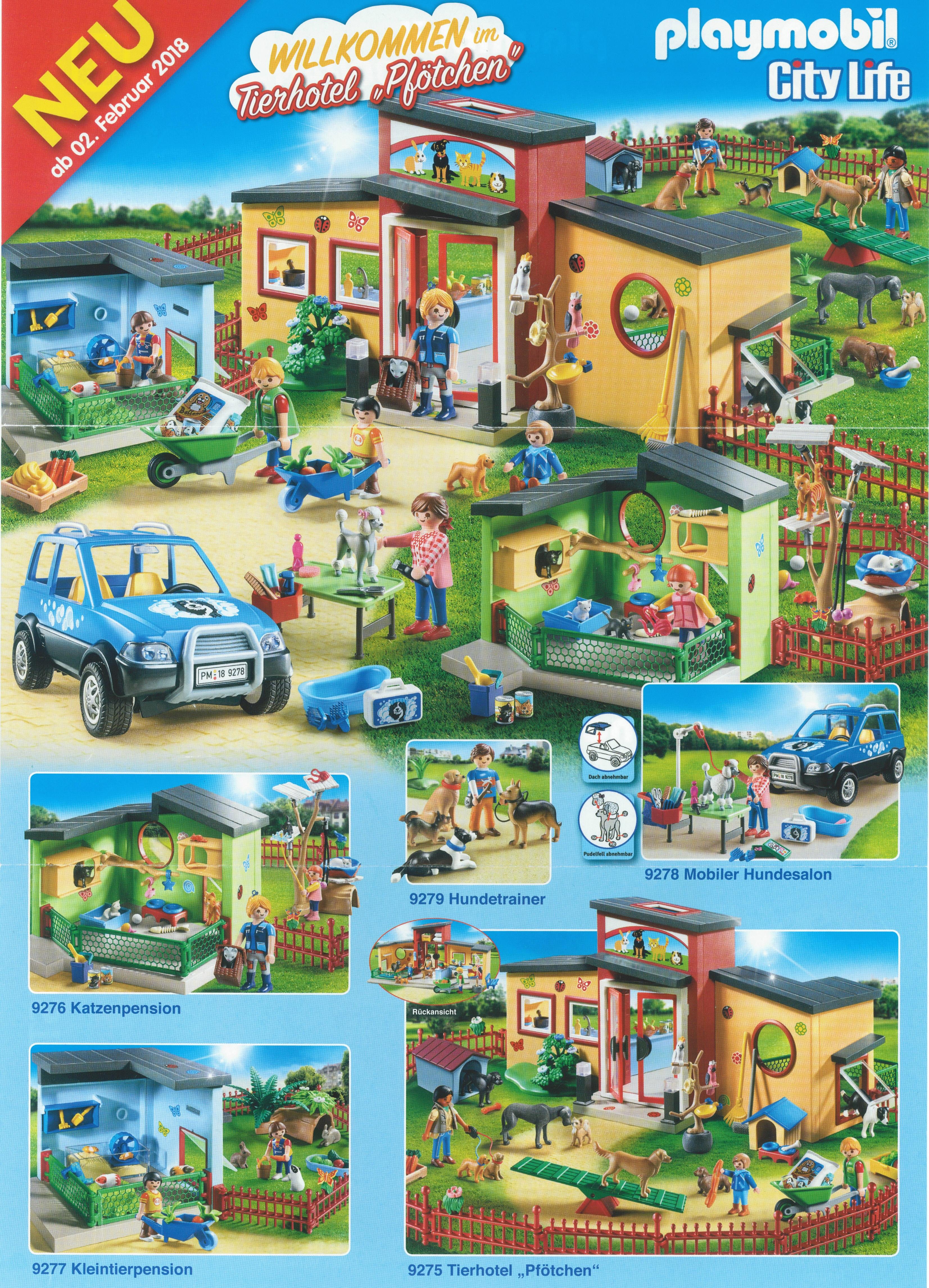 Playmobil neuheit tierhotel pf tchen testsieger for Maison moderne playmobil 2018