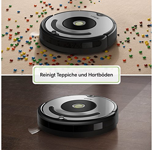 irobot roomba 615 saugroboter testsieger. Black Bedroom Furniture Sets. Home Design Ideas