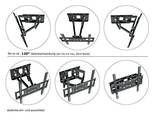 ricoo tv wandhalterung s5244 32 65 zoll testsieger. Black Bedroom Furniture Sets. Home Design Ideas