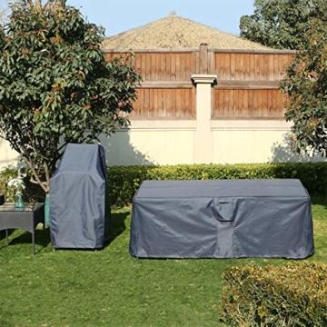 songmics schutzh lle f r gartenm bel 200 x 160 x 70 cm testsieger. Black Bedroom Furniture Sets. Home Design Ideas
