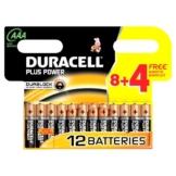 Duracell Batterie Plus Power Micro AAA 8er + 4 gratis Sonderpack