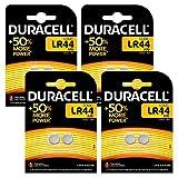 Duracell Specialty LR44 Alkali-Knopfzelle 76A/A76/V13GA (1,5V, entwickelt für die Verwendung in Spielsachen, Taschenrechnern und Messgeräten, 8er-Packung)