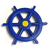 Steuerrad für Schiff Kunststoff Farbe blau von Gartenpirat
