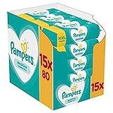 Pampers Sensitive Feuchttücher, 1er Pack (1 x 1200 Stück)