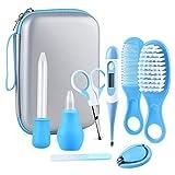 Babypflege Set, 8 teiliges Baby Gesundheitswesen Kit mit Nasensauger Pipette Feeder Nagel Haarpflegeset für Neugeborene, Säugling, Kleinkind Gesundheit und Pflege