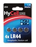 HYCELL 1516-0024 Alkaline Knopfzelle,  4x LR44 1,5V