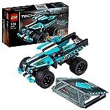 LEGO Technic 42059 - Stunt-Truck Rückziehauto, Auto-Bauset, Bauspielset