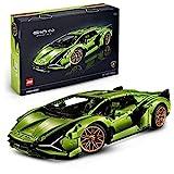 Der grüne Lamborghini Sian FKP 37 - Lego Bausatz 42115