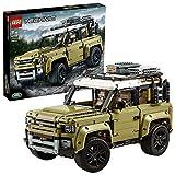 Der grün-weiße Land Rover Defender - Lego Bausatz 42110