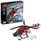 Kleiner Lego Technic Rettungshubschrauber für Anfänger - Bausatz 42092