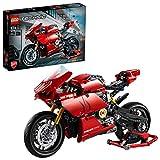 Das rote Ducati Panigale V4R Motorrad - Lego Bausatz 42107