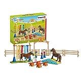 Schleich 42481 Farm World Spielset - Pony Agility Training, Spielzeug ab 3 Jahren