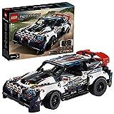 Das weiß-schwarze Top-Gear Rallyeauto - Lego Bausatz 42109