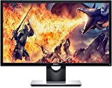 Dell SE2417HGX, 24 Zoll, Gaming Monitor, Full HD 1920x1080, 75 Hz, TN entspiegelt, 16:9, AMD FreeSync, 1 ms (extrem), neigbar, HDMI, VGA, 3 Jahre Austauschservice, schwarz/silber