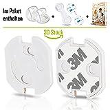 Dhan'S Baby 30er Set Premium - Steckdosensicherung + Extras I Sicherer Steckdosenschutz für Ihr Baby (30er Set)
