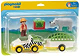 Playmobil 6743 - Safari-Fahrzeug mit Nashorn