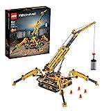 Der gelbe Lego Technic Spinnenkran 42097