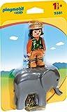 Playmobil 9381 - Tierpflegerin mit Elefant