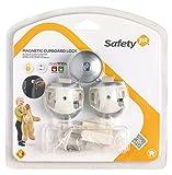 Safety 1st 33110024 Magnetschloss - unsichtbare Sicherung für Schranktüren, Weiß