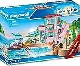 PLAYMOBIL Family Fun 70279 Eisdiele am Hafen, Ab 4 Jahren
