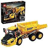 Der gelbe Volvo-Dumper LKW im Lego Technic Set 42114