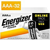 Energizer Alkaline Power-AAA-Batterien, 32 Pack