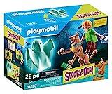 PLAYMOBIL SCOOBY-DOO! 70287 Scooby und Shaggy mit Geist, Ab 5 Jahren