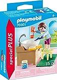 PLAYMOBIL Special Plus 70301 Mädchen beim Zähneputzen, ab 4 Jahren