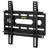 Hama TV-Wandhalterung 'Ultraslim' für 48 - 94 cm Diagonale (19 - 37 Zoll), für max. 25 kg, VESA bis 200 x 200, schwarz