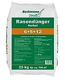 Beckmann Profi Rasendünger Herbst 6+5+12, 25 kg