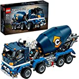 Der blaue Betonmischer-LKW im Lego 42112 Bausatz
