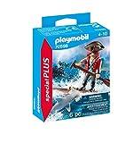 PLAYMOBIL Special Plus 70598 Pirat mit Floß und Hammerhai, Ab 4 Jahren