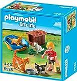 Playmobil 5535 - Katzenfamilie mit Körbchen