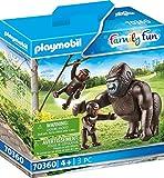 PLAYMOBIL 70360 Gorilla mit Babys, ab 4 Jahren
