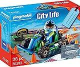 PLAYMOBIL CityAction 70292 Geschenkset 'Go Kart-Rennen', ab 4 Jahren