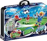 Playmobil 70244 Sports & Action Fußballarena & Spielfiguren, Mehrfarbig