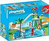 Playmobil 6669 - Spielspaß mit dem Aquapark mit dem ultimativen Rutschentower
