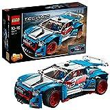 Das blau-weiß-rote Rallyeauto - Lego Bausatz 42077