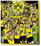 Borussia Dortmund Adventskalender 2021 BVB 09 Kalender Weihnachtskalender Fußball Comic Fairtrade Fußball (€ 9,95/100g)