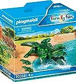 PLAYMOBIL 70358 Alligator mit Babys, ab 4 Jahren