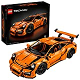 Der orangene Porsche 911 GT3 RS  - Lego 42056