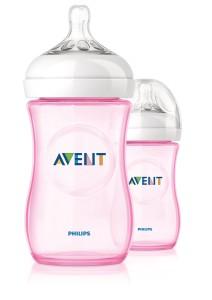 Preisvergleich PHILIPS Avent SCF694/27 Naturnah Flaschen 260ml rosa