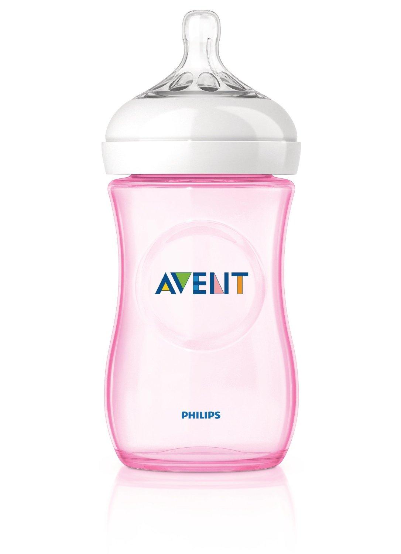 Preisvergleich PHILIPS Avent Naturnah Flaschen 260ml rosa SCF694/27