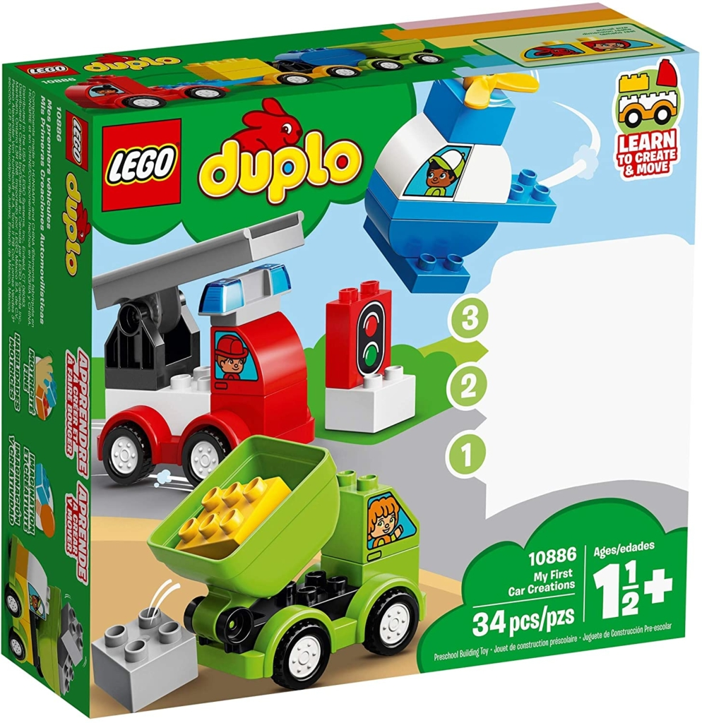 Lego Duplo empfohlen ab 1,5 Jahren