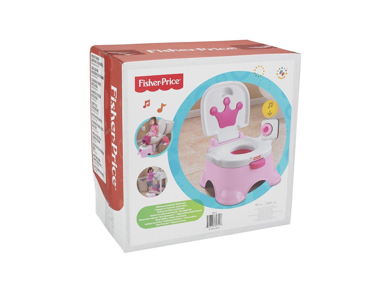 Lerntoepfchen Fussbank Prinzessin Pink Test EAN 746775327118