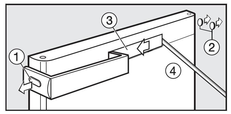 So wechselst Du die Richtung des Türgriffs an einem Miele Mini-Gefrierschrank