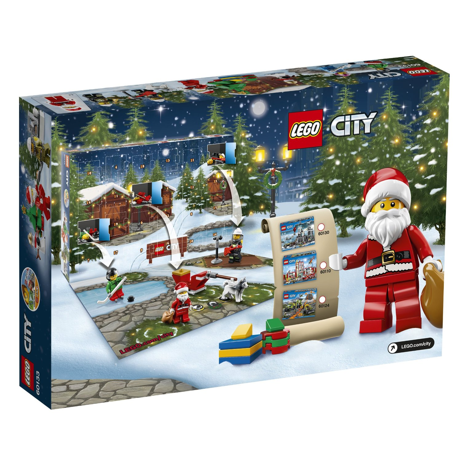 Lego City 60133 Adventskalender 2016 EAN 5702015594943