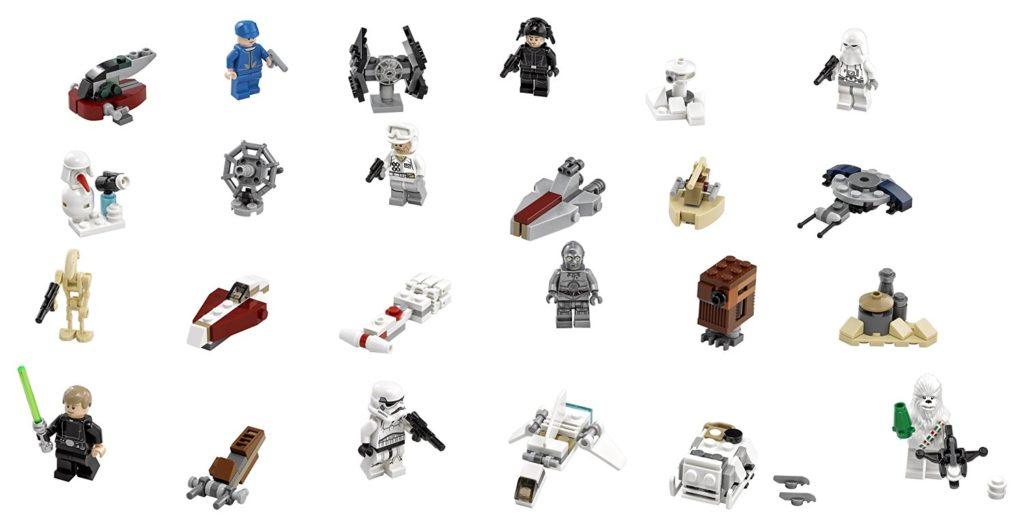 Lego Star Wars 75146 Adventskalender 2016 EAN 5702015593953 Inhalt