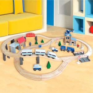 Aldi Eisenbahn für Kleinkinder